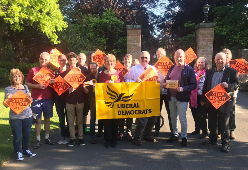 Coventry Liberal Democrats in Memorial Park