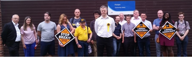 James Morshead Campaign launch 2019 - by Finham Library