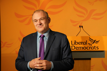 Newly elected leader Ed Davey